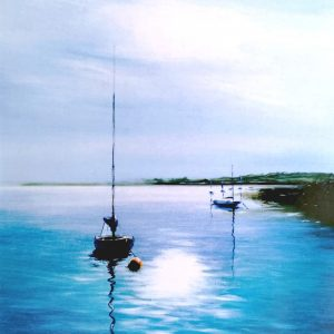 Gary Bosher, Boats, Giclee auf Fotopapier