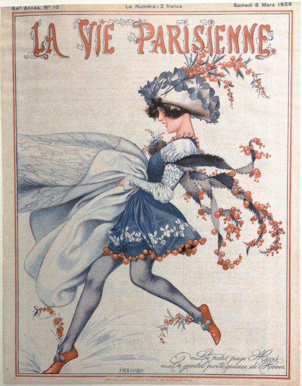 La Vie Parisienne, Giclee auf Bütten.