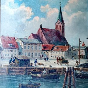 Gerold Eggert, Ölgemälde