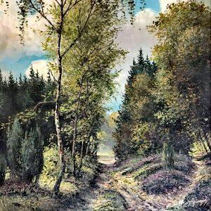 Hans Erich Pfennigschmidt, Öl auf Leinwand