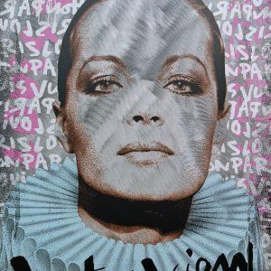 Devin Miles, Interview, Siebdruck und Malerei auf gebürstetem Aluminium
