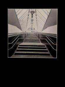 Escalator 2,Original Fotografie auf Pe Papier