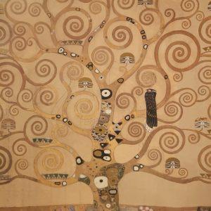 Gustav Klimt, Lebensbaum, Kunstdruck