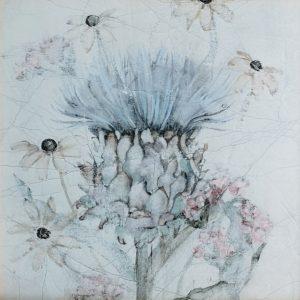Blum Blumen, Gerahmter Kunstdruck