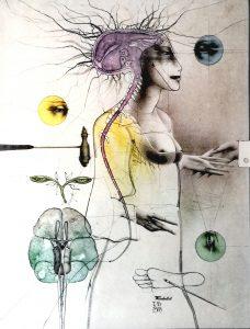 Paul Wunderlich, Kunstdruck