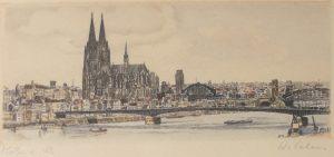 Farbradierung, Köln