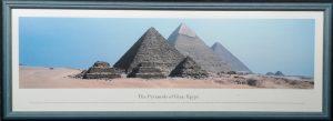 The Pyramid of Giza, Egypt, Fertigbild