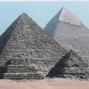 The Pyramid of Giza, Egypt, Fertigbild
