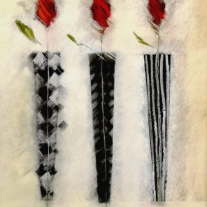 Marylyn Robertson, Rosen, Kunstdruck