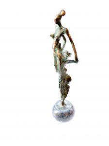 Gyunay Aliev, Plastik, Model mit Kleid 2