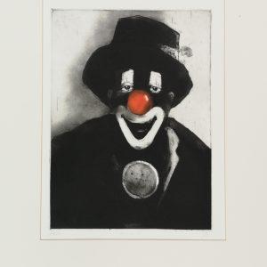 Clown, Radierungen
