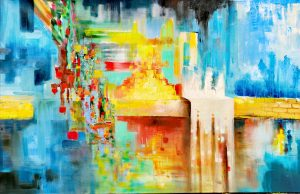 Yura Alekseev, Ölgemälde, Elektronische Musik