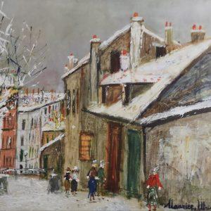 Maurice utrillo, Poster, Kunstdruck,