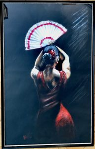 Flamenco Tänzerin,