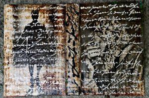 Ute Mohme, collage, schriftkunst, buchkunst