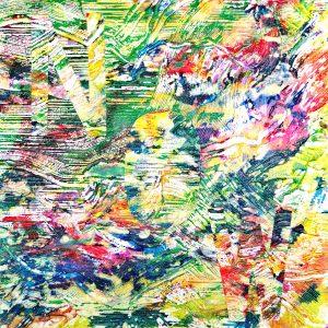 Ute Mohme, collage, Acryl auf Leinwand, Text, schriftkunst