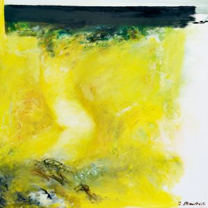 Redzep Memisevic, Abstrakt, Acryl auf Leinwand